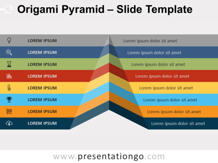 Free Origami Pyramid Template