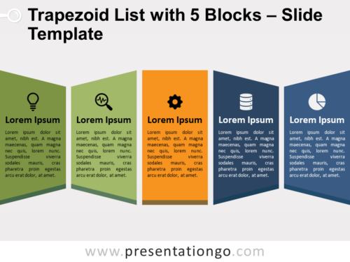 Trapezoid List with 5 Blocks