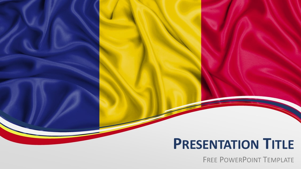 Free Romania Flag PowerPoint and Google Slides Template