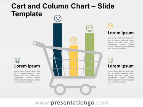 Free Cart and Column Chart Template