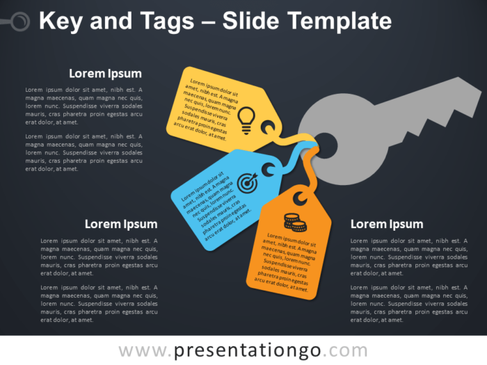 Free Key and Tags Template