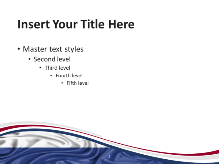 Netherlands Flag PowerPoint Template - Slide 2