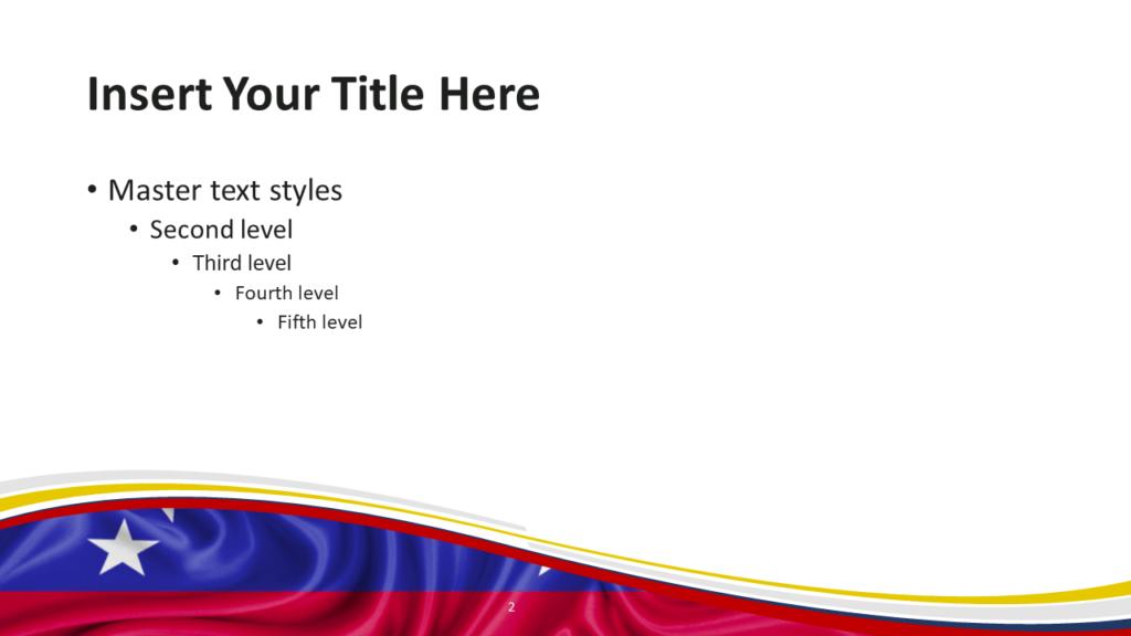 Venezuela Flag PowerPoint and Google Slides Template - Slide 2