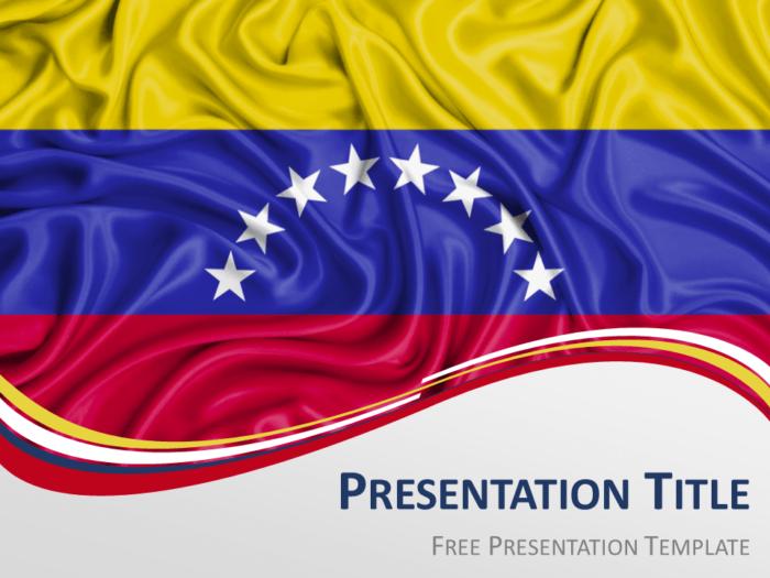 Free Venezuela Flag PowerPoint and Google Slides Template - Slide 2