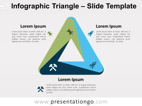 Free Free Infographic (Penrose) Triangle PowerPoint Template