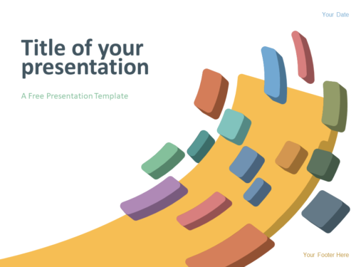 Free Modern Abstract Template for PowerPoint