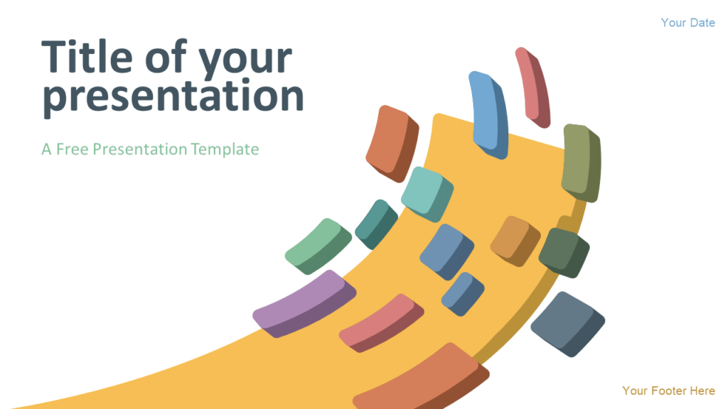 Free Modern Abstract Template for PowerPoint and Google Slides