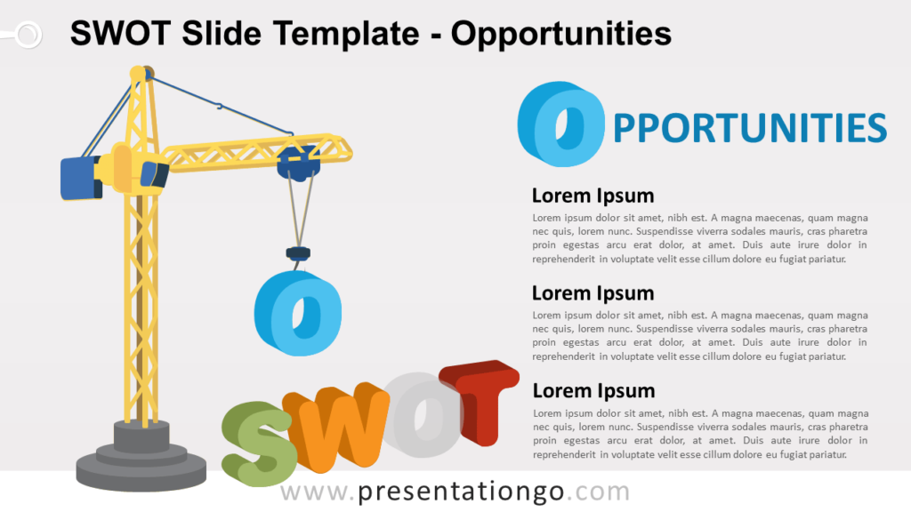OPPORTUNITIES - SWOT Analysis for PowerPoint and Google Slides
