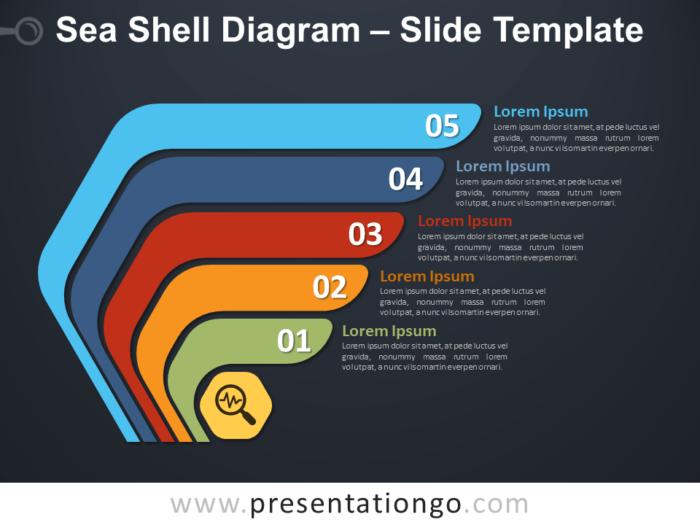 Free Sea Shell Diagram Template
