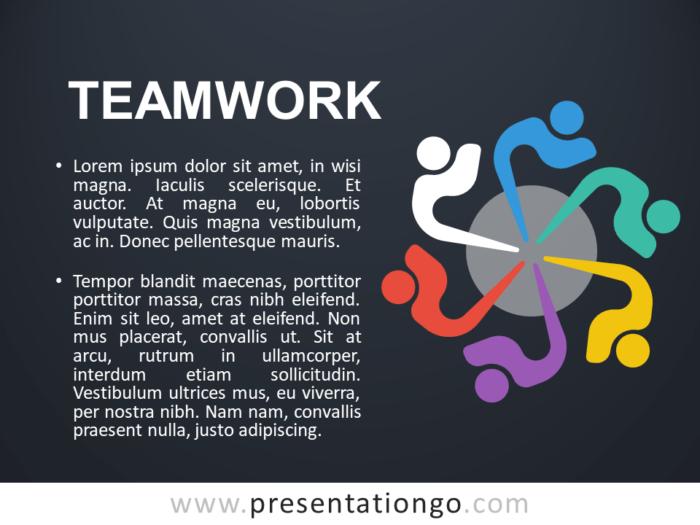 Free Teamwork - Concept Template