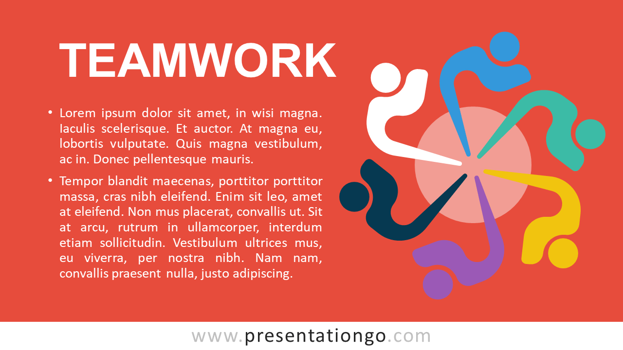 Free Teamwork - Metaphor Template for PowerPoint and Google Slides