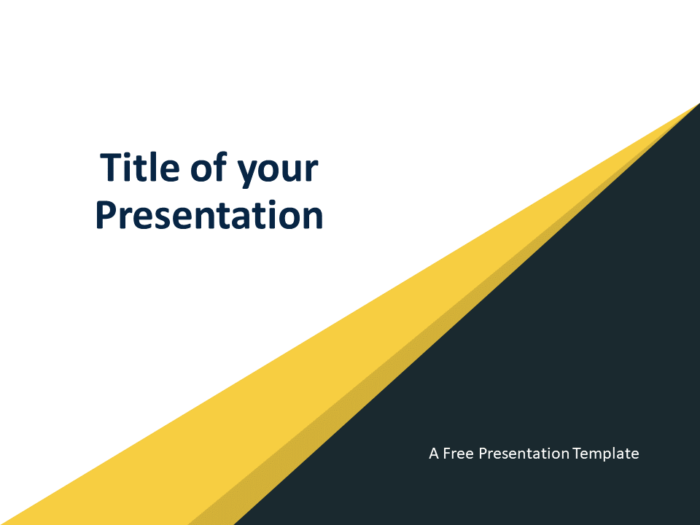 Free Abstract Modern Template for PowerPoint