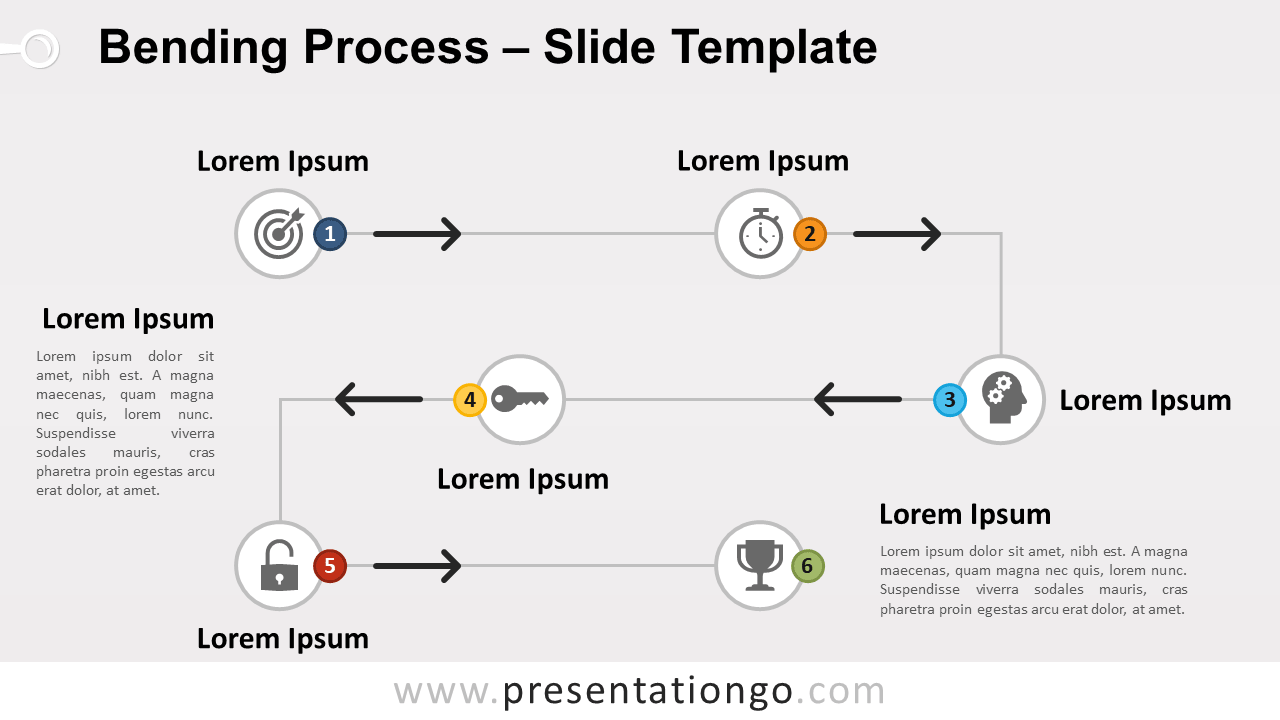 Free Bending Process for PowerPoint and Google Slides