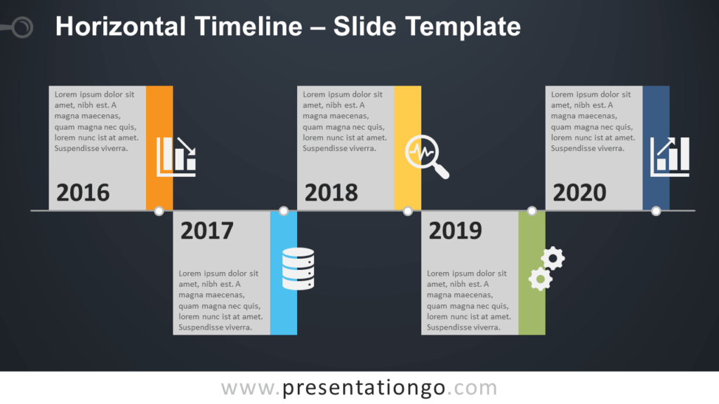 Horizontal Timeline - Free PowerPoint and Google Slides Template
