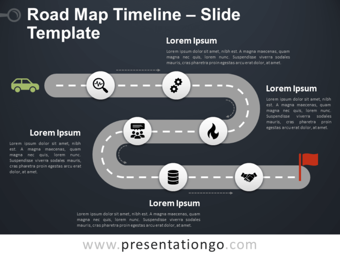 Free Roadmap Timeline for PowerPoint