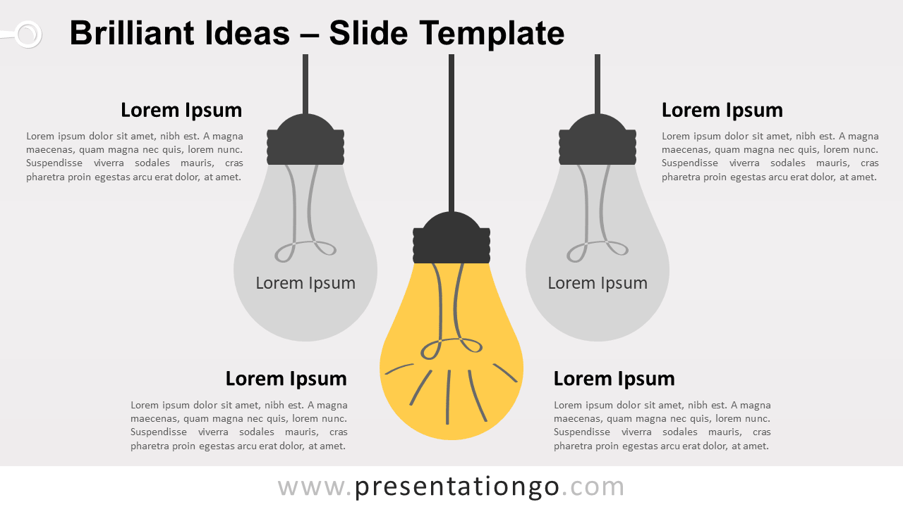 Free Brilliant Ideas for PowerPoint and Google Slides
