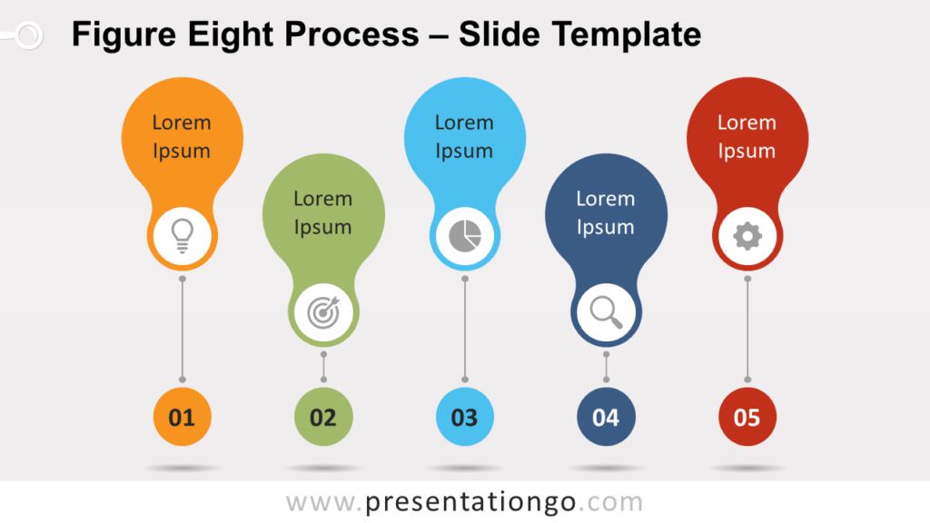 Free Figure-Eight Process for PowerPoint and Google Slides