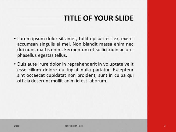 Modern Business Template for PowerPoint - Slide 3