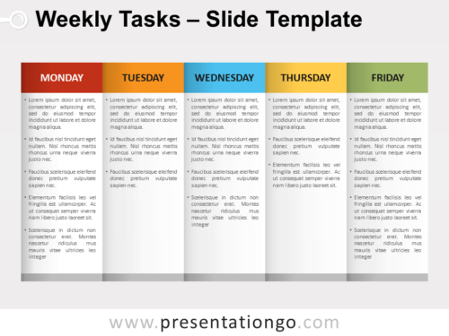 Free Weekly Tasks for PowerPoint