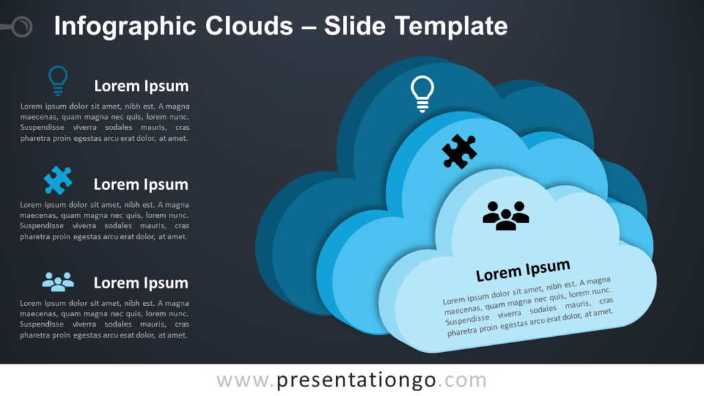 Infographic Clouds - Free PowerPoint and Google Slides Template