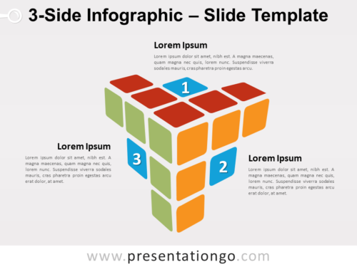 Free 3-Side Infographic for PowerPoint