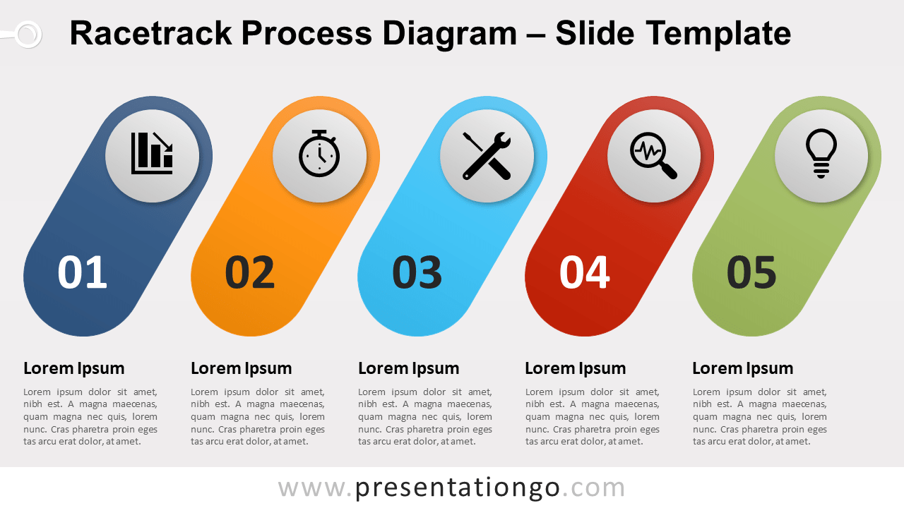 Free Racetrack Process for PowerPoint and Google Slides