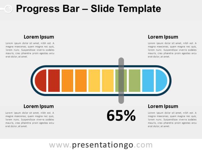 Free Progress Bar for PowerPoint