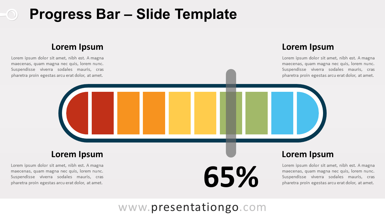 Free Progress Bar for PowerPoint and Google Slides