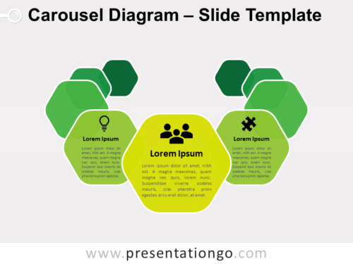 Free Carousel Diagram for PowerPoint