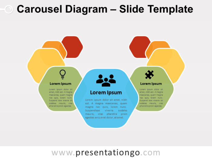 Free Carousel Diagram Slide for Google Slides