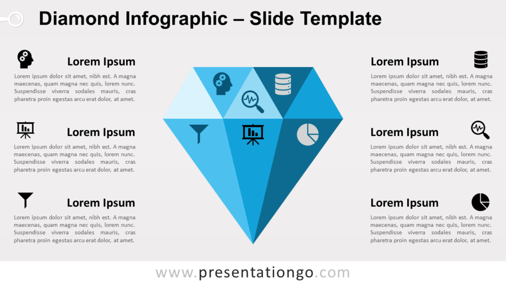 Free Diamond for PowerPoint and Google Slides