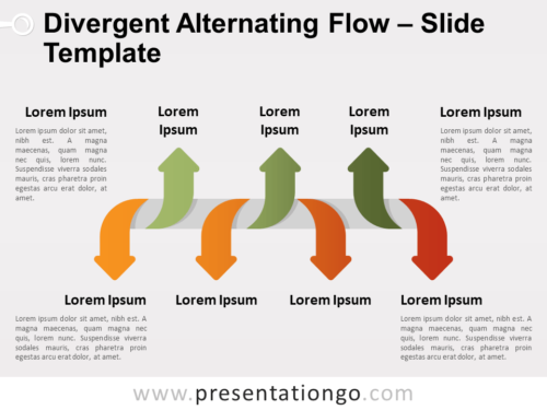 Free Divergent Alternating Flow for PowerPoint