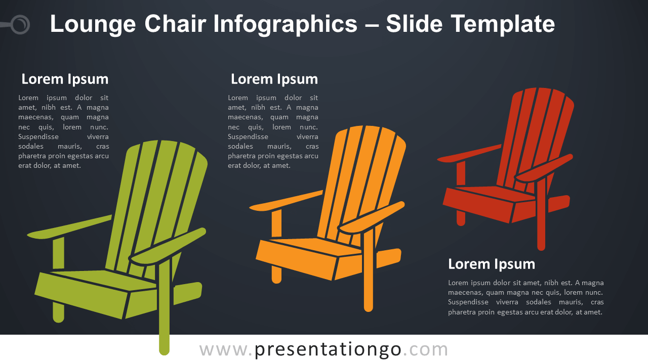 Free Lounge Chair Infographic for PowerPoint and Google Slides