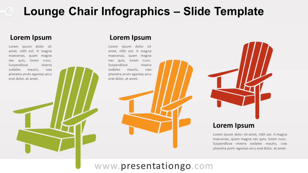 Free Lounge Chair for PowerPoint and Google Slides