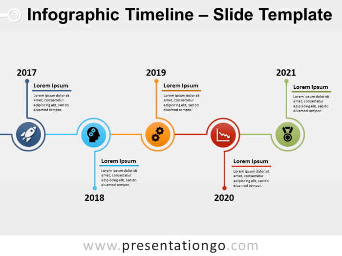 Free Timeline Infographic for PowerPoint