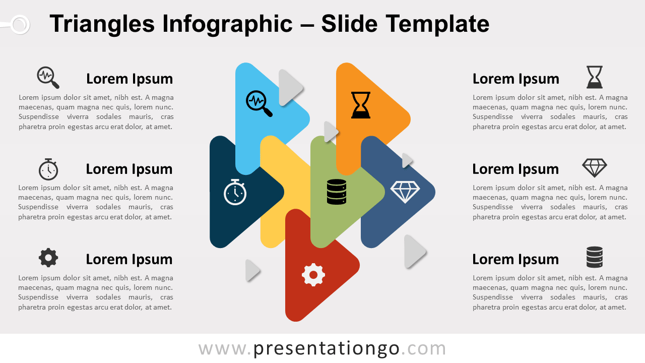 Free Triangle Relationship for PowerPoint and Google Slides