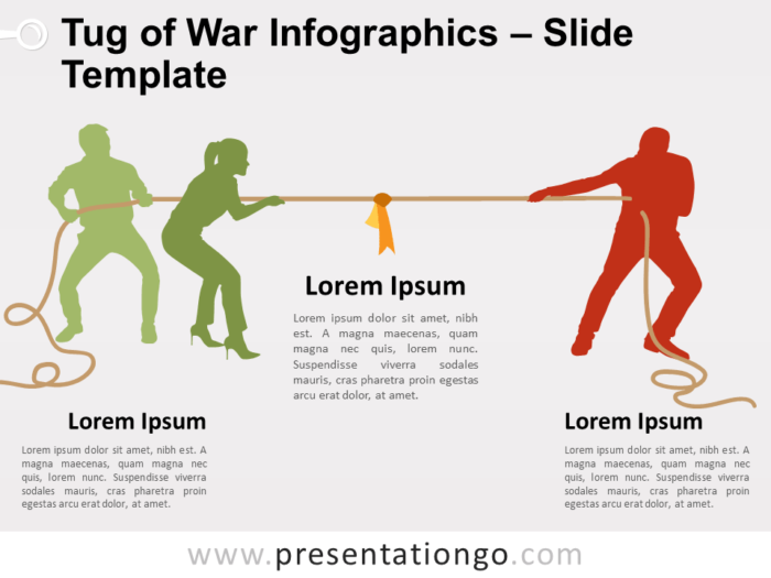Free Tug War for PowerPoint