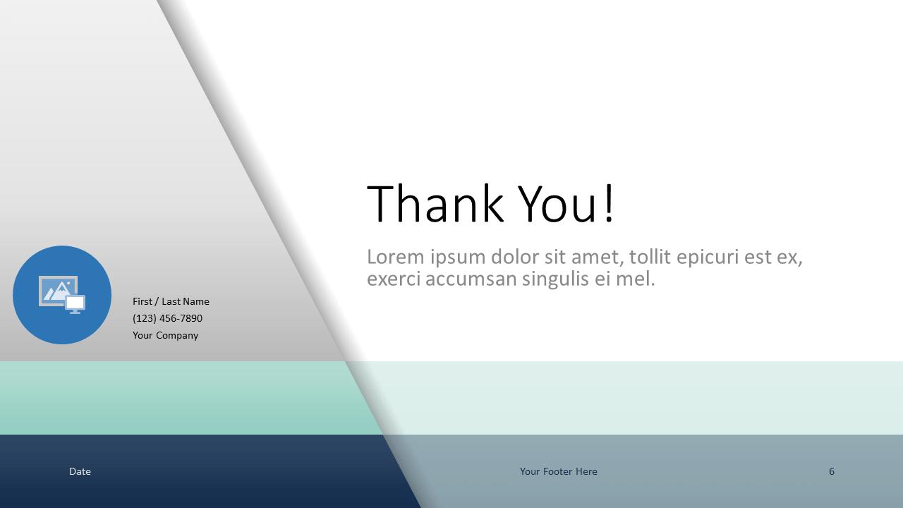 Voonex - Business Template for Google Slides - Closing