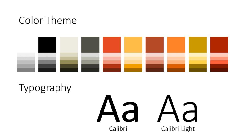 07 - CROSSFIT Sports - Free Google Slides Template - Colors Fonts