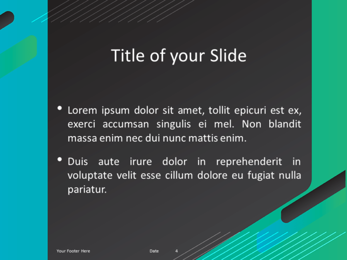 Free Gaming Template for Powerpoint - Title Content