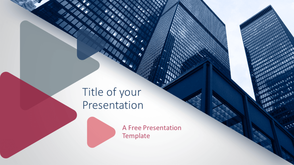 Free Finance & Business Template for PowerPoint and Google Slides - Cover