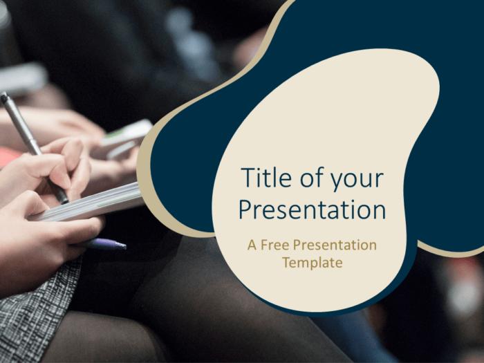 Free UNIVERSITY Education Template for PowerPoint - Cover