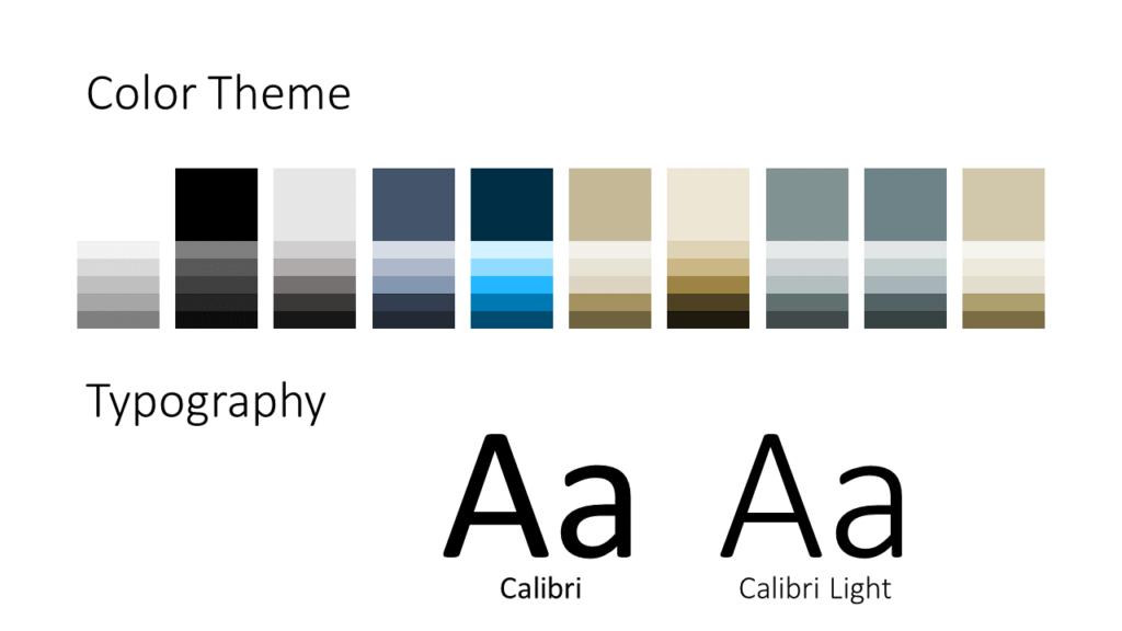 Free UNIVERSITY Education Template for Google Slides - Colors Fonts