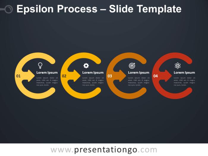 Free Epsilon Process Diagram for PowerPoint