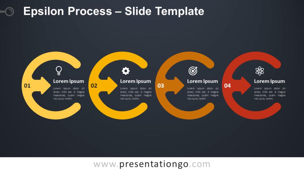 Free Epsilon Process Diagram for PowerPoint and Google Slides