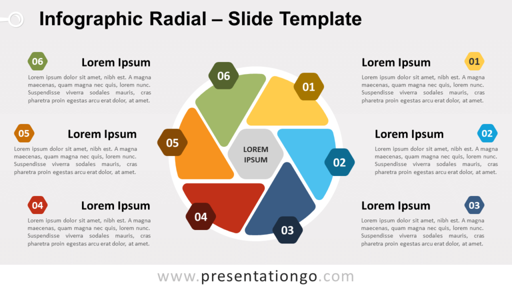 Free Infographic Radial for PowerPoint and Google Slides