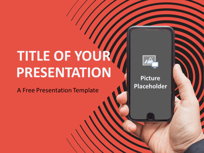 Free Sonar Creative Template for PowerPoint - Cover