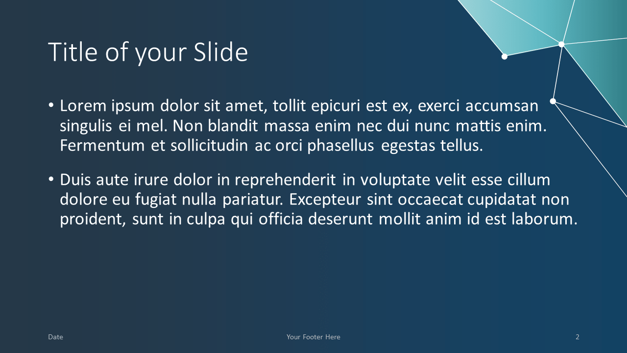Free SCIENCE & TECH Template for Google Slides - Title Content (variant 1)