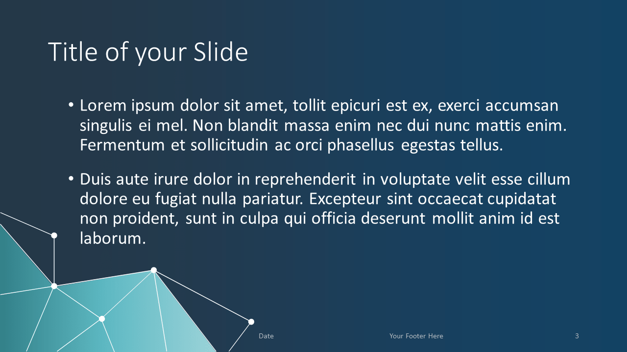 Free SCIENCE & TECH Template for Google Slides - Title Content (variant 2)