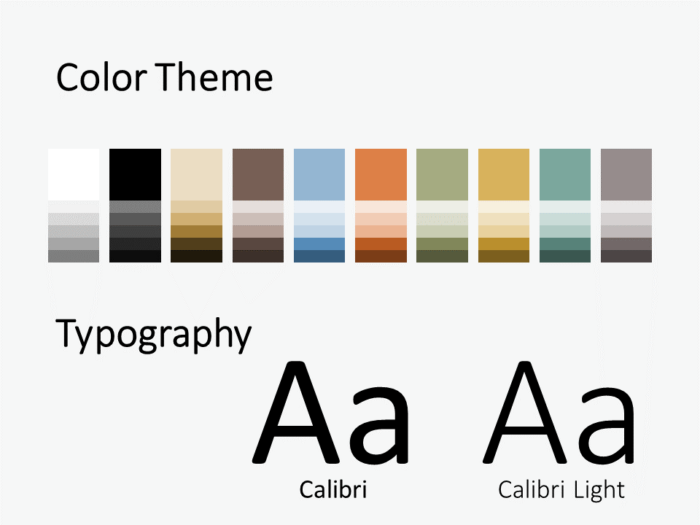Free Torn Paper Creative Template for PowerPoint - Colors Fonts